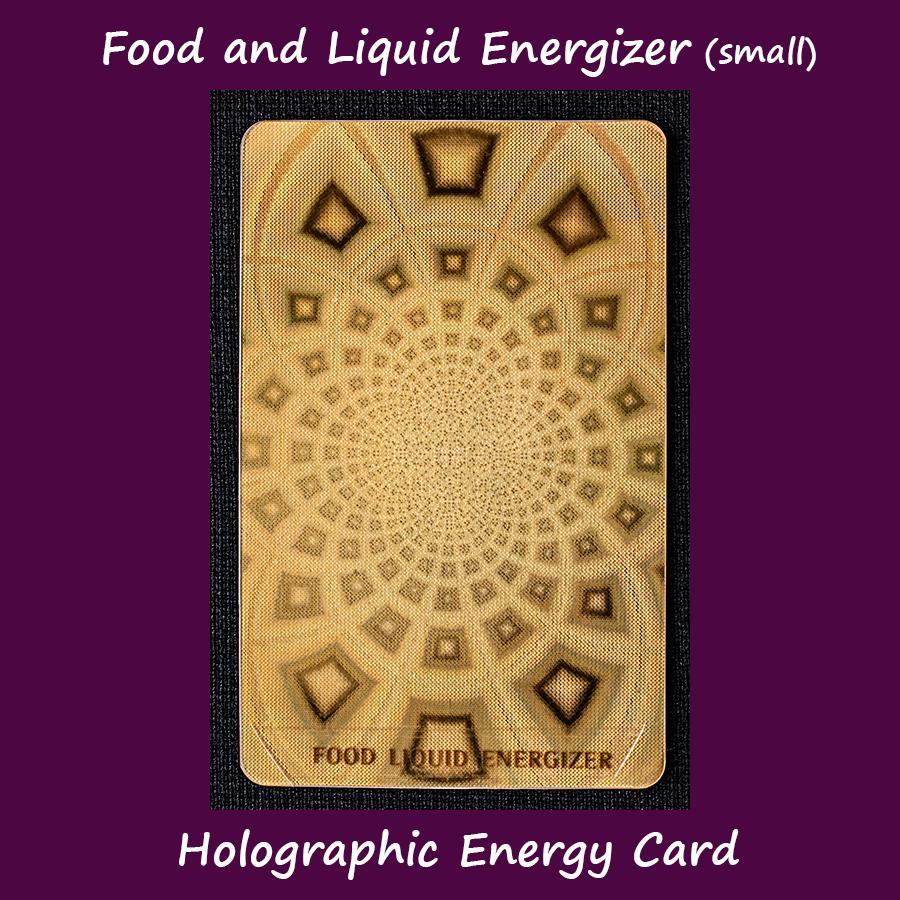 EMF Food Card