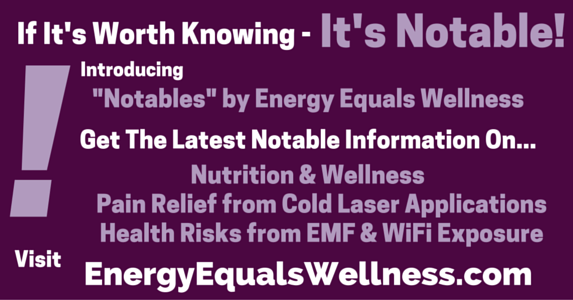 Nutrition and Wellness Notables