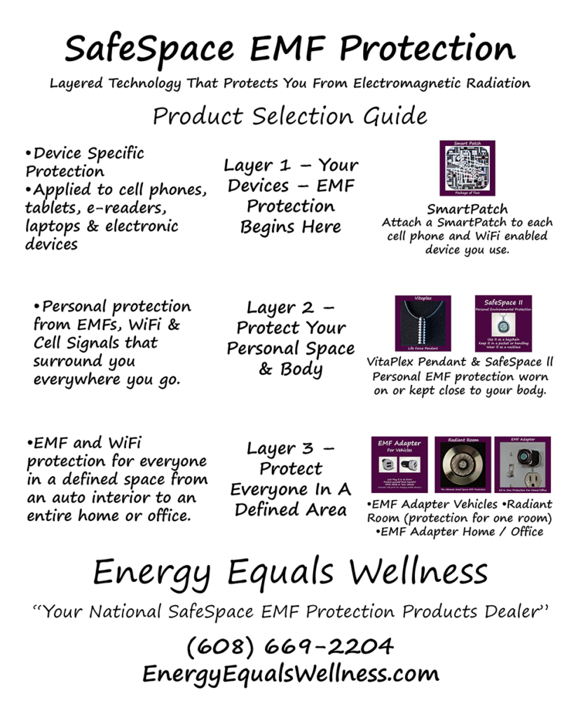 Emf protection energy equals wellness please use the product selection guide to the right to help you determine the best safe space protection product for your needs aloadofball Images